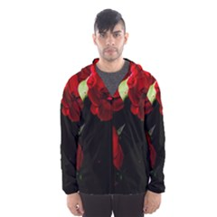 Roses 4 Hooded Wind Breaker (men)