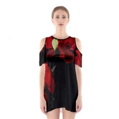Roses 4 Cutout Shoulder Dress
