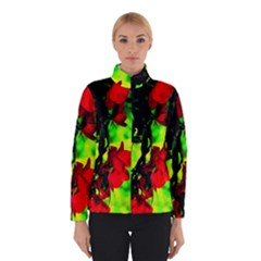 Red Roses and Bright Green 1 Winterwear