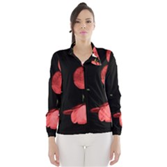 Mauve Roses 1 Wind Breaker (Women)
