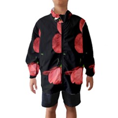 Mauve Roses 1 Wind Breaker (Kids)