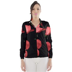 Mauve Roses 2 Wind Breaker (women)