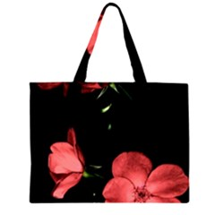 Mauve Roses 3 Large Tote Bag