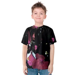 Mauve Pink Roses Kid s Cotton Tee