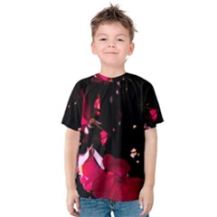 Pink Roses Kid s Cotton Tee