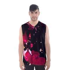 Pink Roses Men s Basketball Tank Top