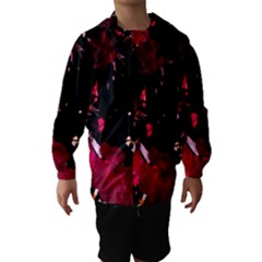 Pink Roses Hooded Wind Breaker (kids)