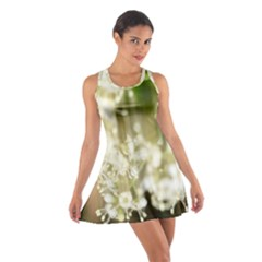 Little White Flowers Racerback Dresses