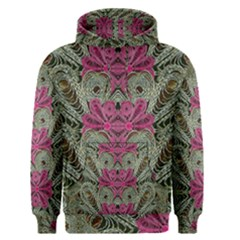 The Last Peacock In Metal Men s Pullover Hoodie