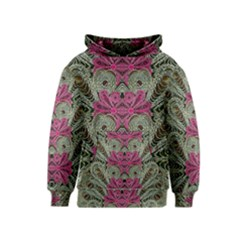 The Last Peacock In Metal Kids  Pullover Hoodie