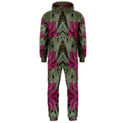 The Last Peacock In Metal Hooded Jumpsuit (Men)