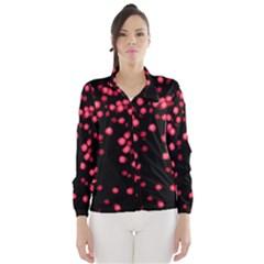 Little Pink Dots Wind Breaker (women)
