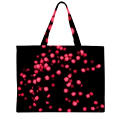 Little Pink Dots Large Tote Bag