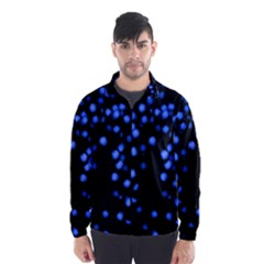 Little Blue Dots Wind Breaker (Men)