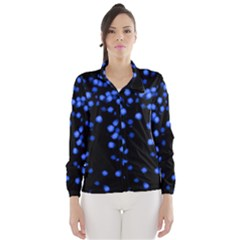 Little Blue Dots Wind Breaker (women)