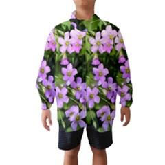 Little Purple Flowers Wind Breaker (Kids)