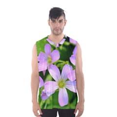 Little Purple Flowers 2 Men s Basketball Tank Top