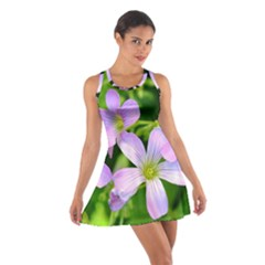 Little Purple Flowers 2 Racerback Dresses