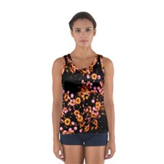 Little Peach and Pink Flowers Tops