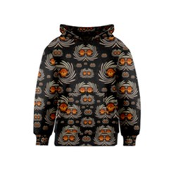 Seeds Decorative With Flowers Elegante Kids  Pullover Hoodie