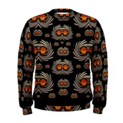 Seeds Decorative With Flowers Elegante Men s Sweatshirt