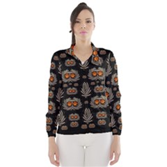 Seeds Decorative With Flowers Elegante Wind Breaker (Women)