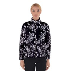 Little Black And White Flowers Winterwear