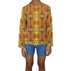 ROOF Kid s Long Sleeve Swimwear