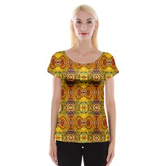 ROOF Women s Cap Sleeve Top