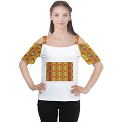ROOF Women s Cutout Shoulder Tee