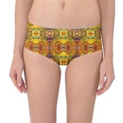 ROOF Mid-Waist Bikini Bottoms