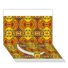ROOF Circle Bottom 3D Greeting Card (7x5)