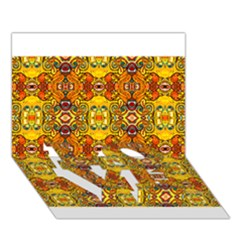 ROOF LOVE Bottom 3D Greeting Card (7x5)
