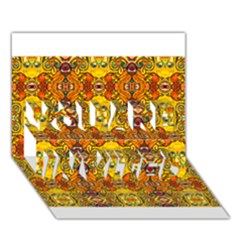 ROOF YOU ARE INVITED 3D Greeting Card (7x5)
