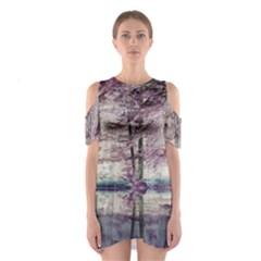Inversion al250316055 Women s Cutout Shoulder One Piece