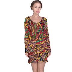 4400 Pix Long Sleeve Nightdress