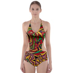 4400 Pix Cut-Out One Piece Swimsuit