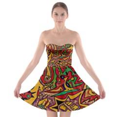 4400 Pix Strapless Dresses