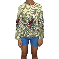 Bipolar Free Will Kid s Long Sleeve Swimwear