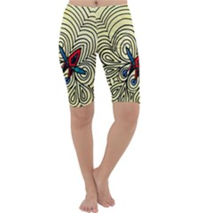 BIPOLAR FREE WILL Cropped Leggings