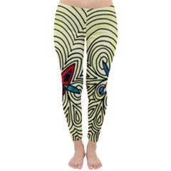 Bipolar Free Will Winter Leggings