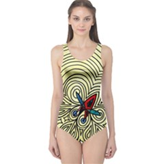 BIPOLAR FREE WILL One Piece Swimsuit