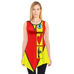 I LOVE ZOUK Sleeveless Tunic