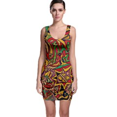 BIPOLAR FREE WILL Sleeveless Bodycon Dress