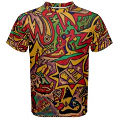 Bipolar Free Will Men s Cotton Tee