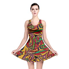 BIPOLAR FREE WILL Reversible Skater Dress