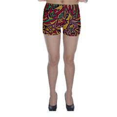BIPOLAR FREE WILL Skinny Shorts