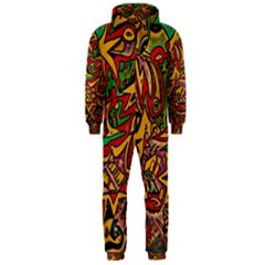 BIPOLAR FREE WILL Hooded Jumpsuit (Men)