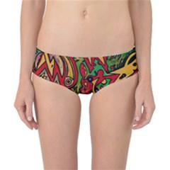 BIPOLAR FREE WILL Classic Bikini Bottoms