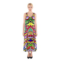 Photoshop 200resolution Full Print Maxi Dress